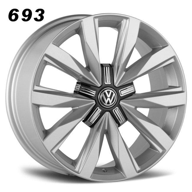 10 spokes vw silver alloy wheels