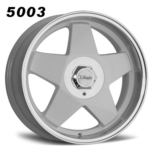 15inch 5 spokes retro alloy wheels