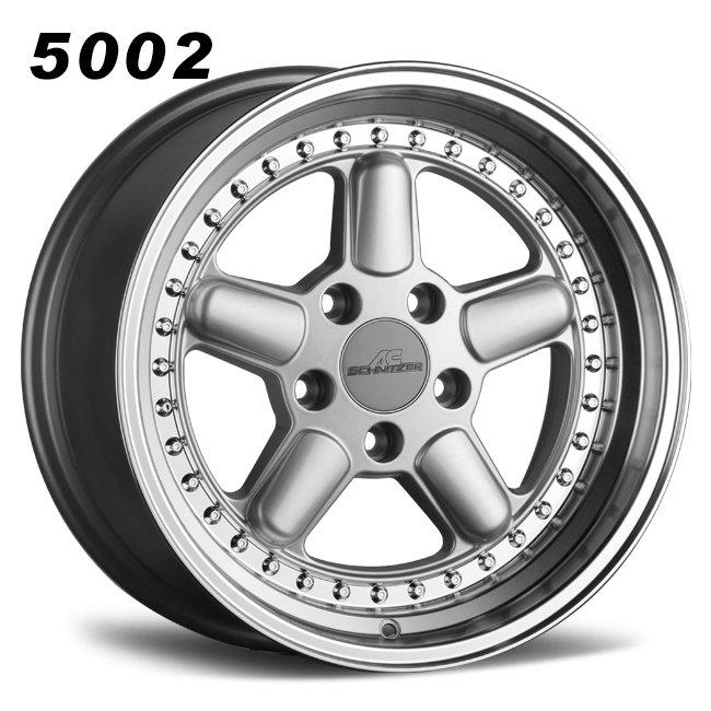 17inch 5 spokes retro alloy wheels