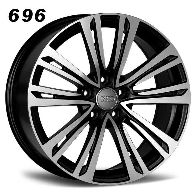 18inch 10 spokes black aluminum alloy wheels
