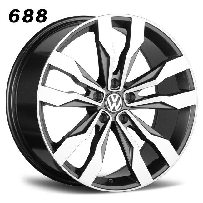 19inch VW tiguan gray oem alloy wheels