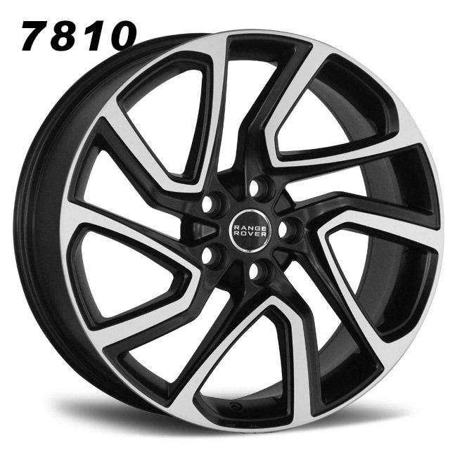22inch turbine 5 holes range aluminum alloy wheels