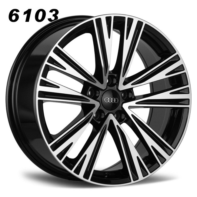 Audi A6 19inch 10 spokes replica mag wheels
