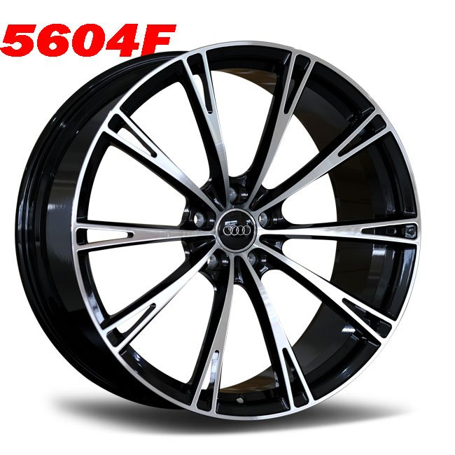 Audi ABT 19inch 10 spoke custom forged wheels