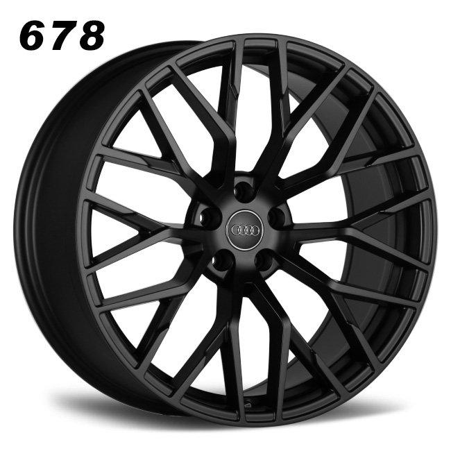 Audi R8 spider y spoke wheels