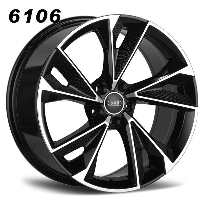 Audi RS7 20inch black oem aluminum alloy wheels