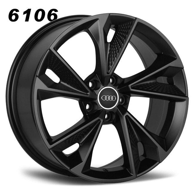 Audi RS7 black aluminum alloy wheels