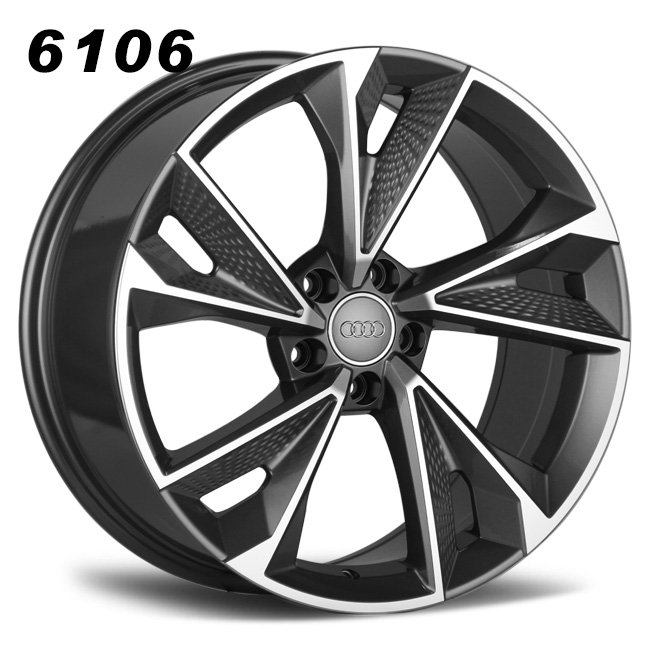 Audi RS7 gray aluminum alloy wheels