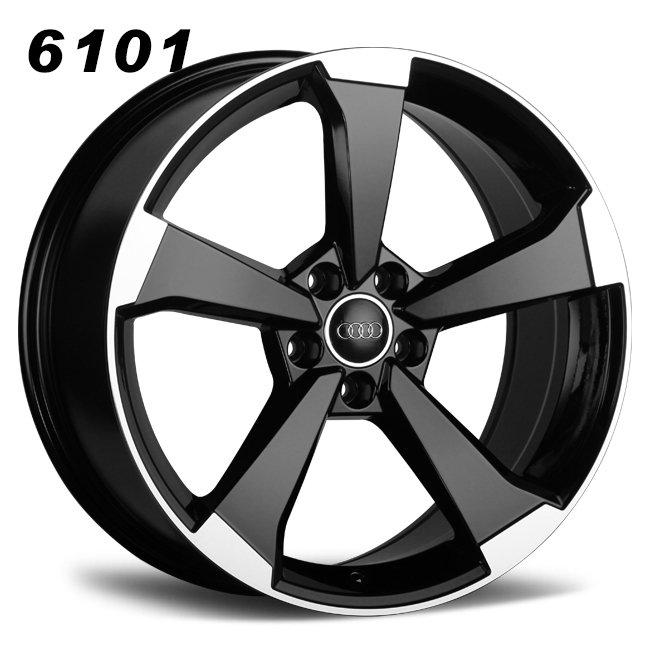 Audi S5 19inch 5 holes black oem alloy wheels