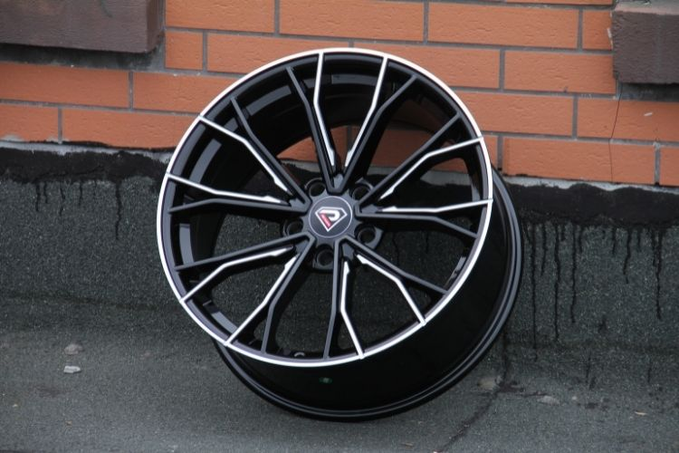 BMW 5 Racing Performance 19inch 5 Spokes Black Milled Alloy wheels