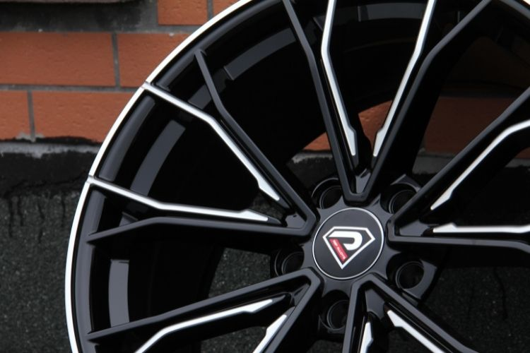 BMW 5 Racing Performance 19inch double 5 Spokes Black Milled Alloy wheels