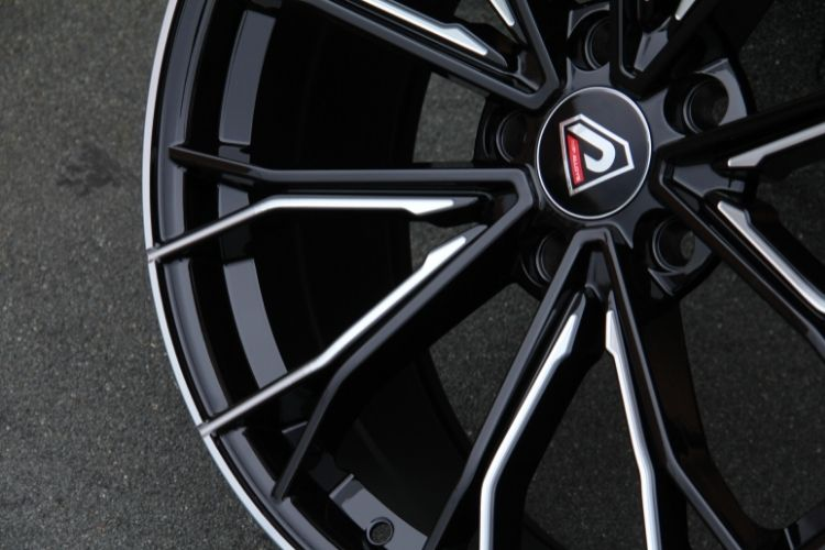 BMW 5 Racing Performance 5-120 19inch 5 holes Black Milled Alloy wheels