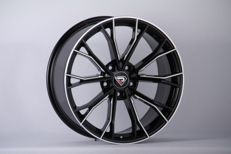 BMW 5 Racing Performance 5-120 19inch Black Milled Alloy wheels
