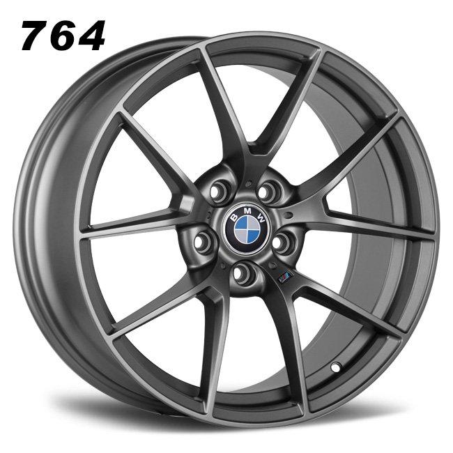 BMW M3 CS 19inch Gray Replica Mag Wheels