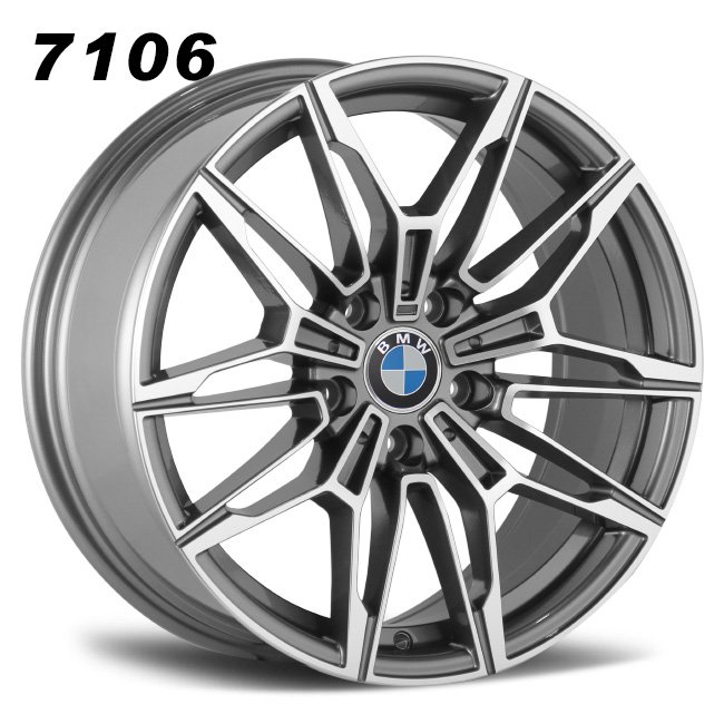BMW M3 Gray aluminum alloy wheels