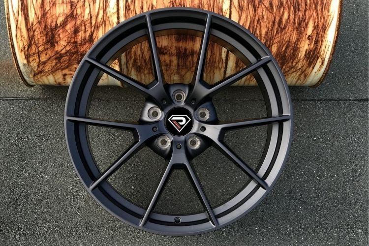 BMW M3 SC 19inch classic 5 spokes Matte Black Alloy wheels