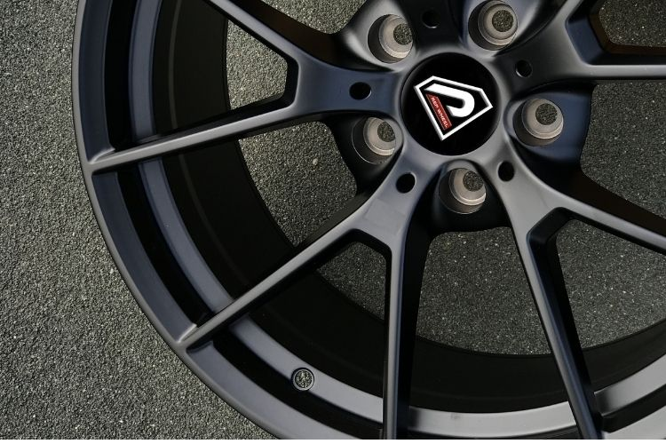 BMW M3 SC 19inch classic spokes Matte Black Alloy wheels