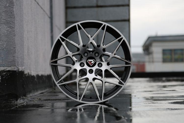 BMW M4 GTS 20inch 5-112 Mesh Spokes Black Machined Face alloy wheels