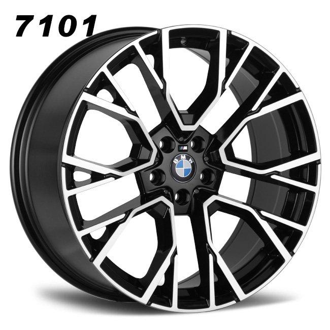 BMW X5M 20inch Staggered Mag Wheels