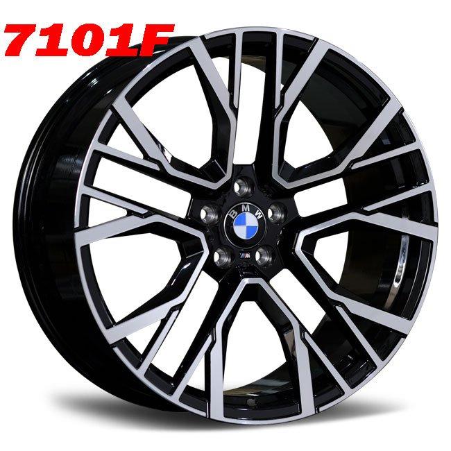 BMW X5M custom alloy wheels