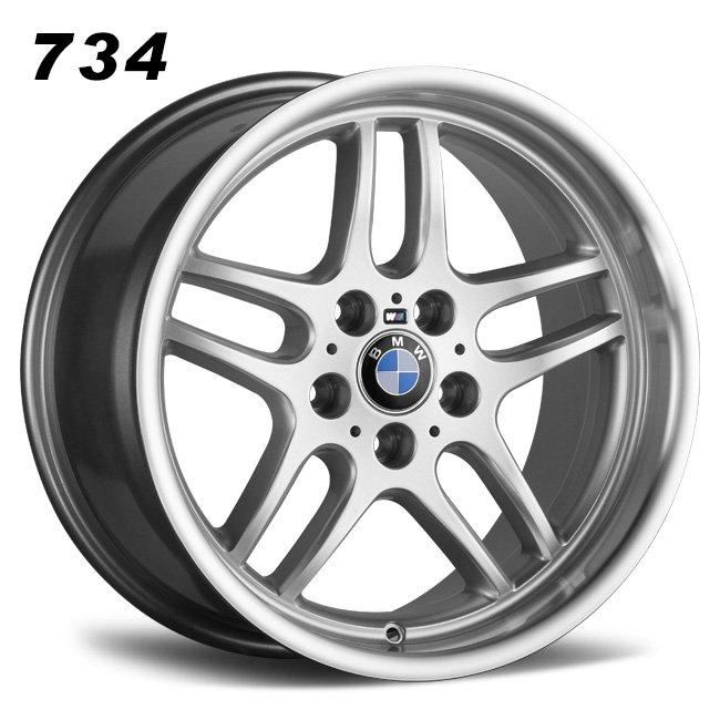 BMW deep dish retro old school 18inch oem alloy wheels
