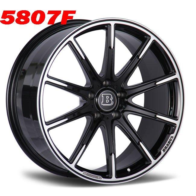 Brabus Z 23 24inch G class custom alloy wheels