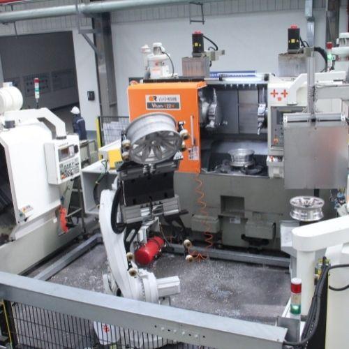 CNC machinng alloy wheel