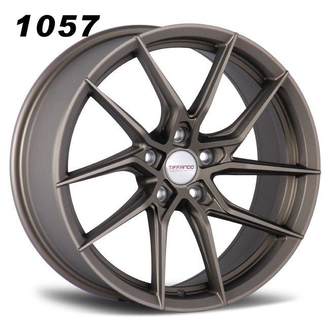 Ferrari turbine bronze alloy wheels.