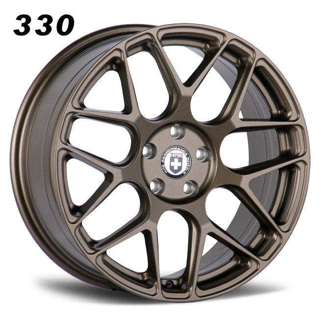 HRE Y psoke 18inch bronze alloy wheels