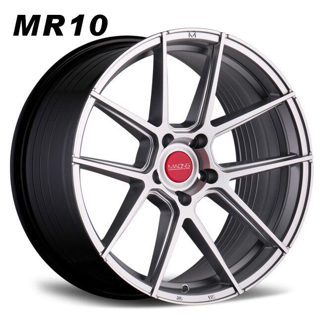 Maons Mr10 concave lightwheels silver alloy wheels