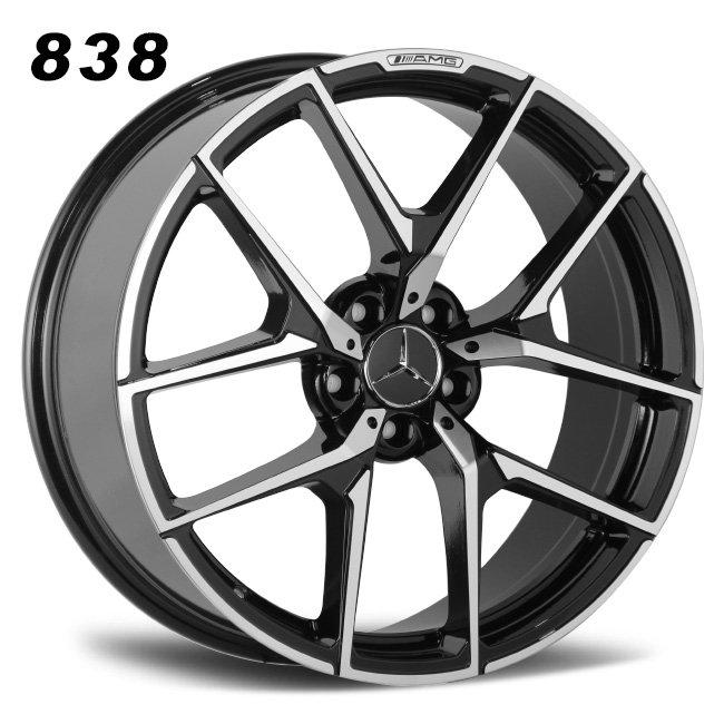 Mercedes 20inch AMG split 5 spokes cast alloy wheels