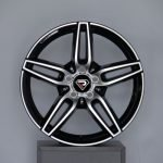 Mercedes Benz E class AMG 19inch staggered alloy wheels