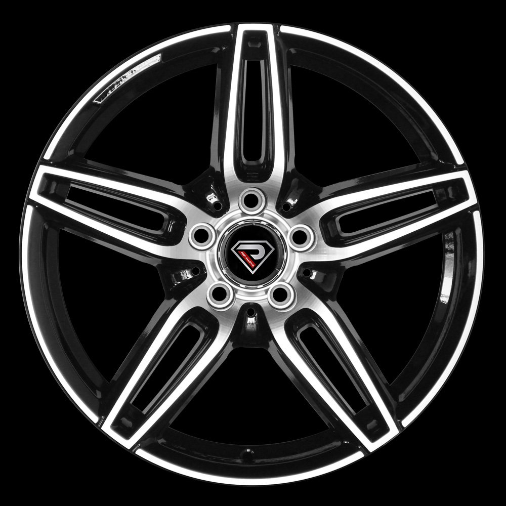 Mercedes E class 5 spokes alloy wheels