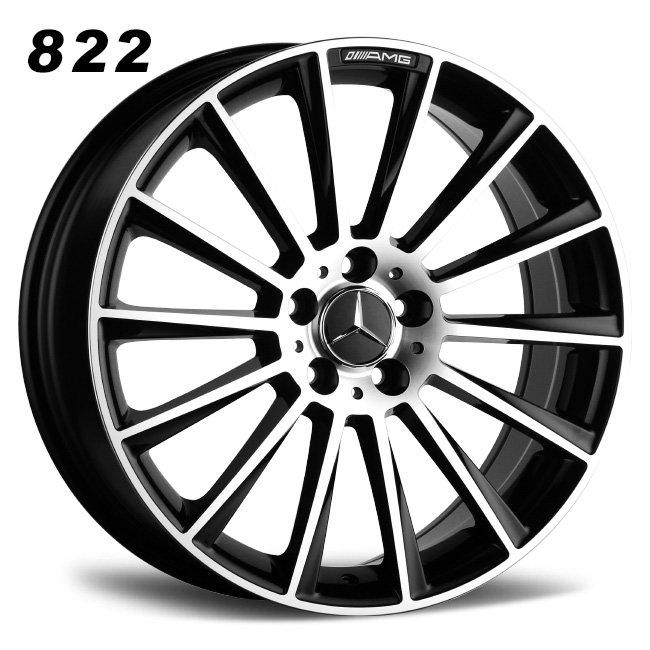 Mercedes Turbine 18inch muti spokes cast alloy wheels