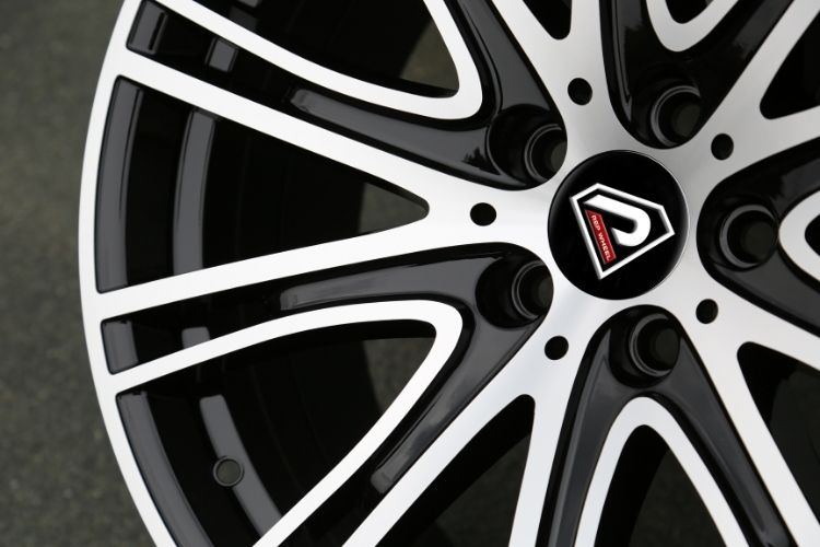 New BMW 7 19inch 5-120 5 holes Black Machined Face Alloy wheels