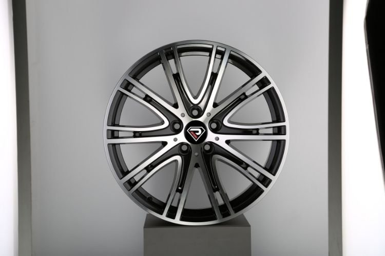 New BMW 7 19inch 5-120 multi-spokes Gunmetal Machined Face Alloy wheels
