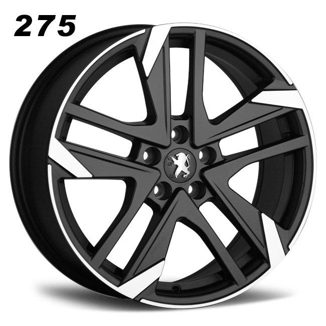 Peugeot 18inch 5 holes oem cast alloy wheels