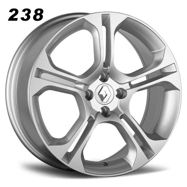 Renault 16inch 4 holes silver alloy wheels