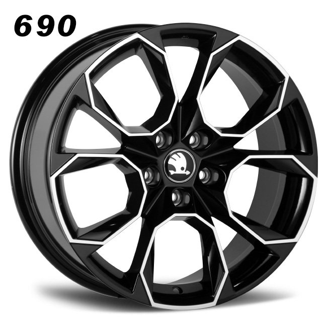 Skoda replica wheels