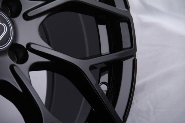 Smart brabus Y 17inch staggered black alloy wheels (1)
