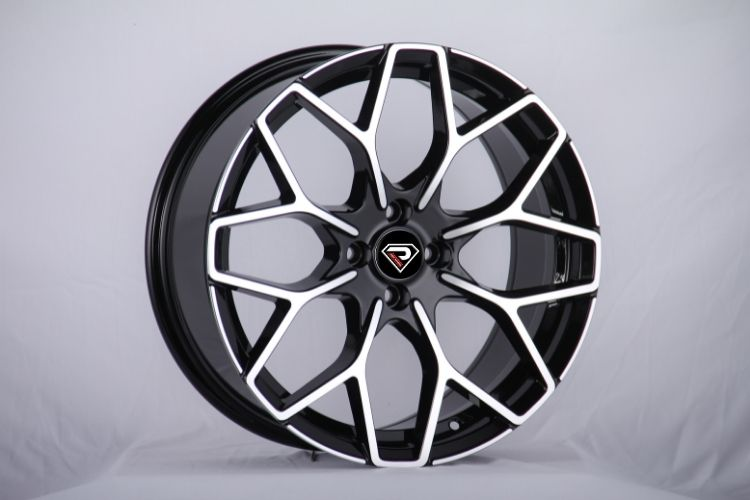 Smart brabus Y 18inch staggered BMF alloy wheels
