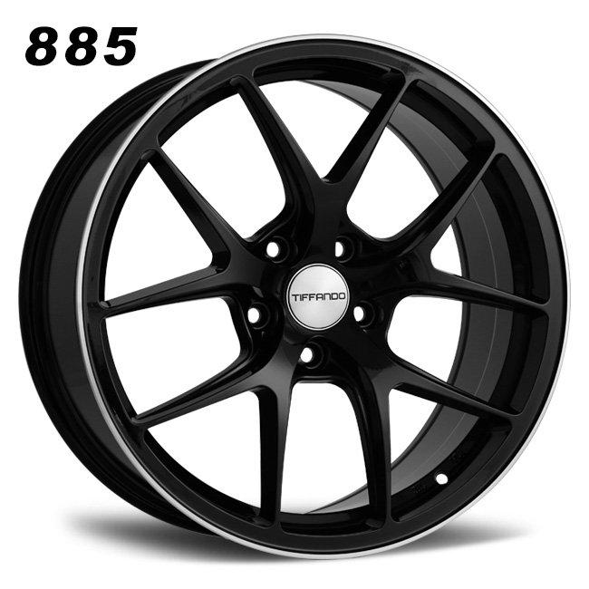 Split 5 Y spoke wheels