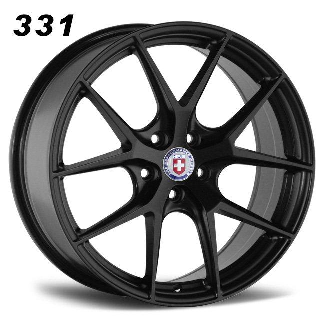Split 5 spoke y spoke wheels