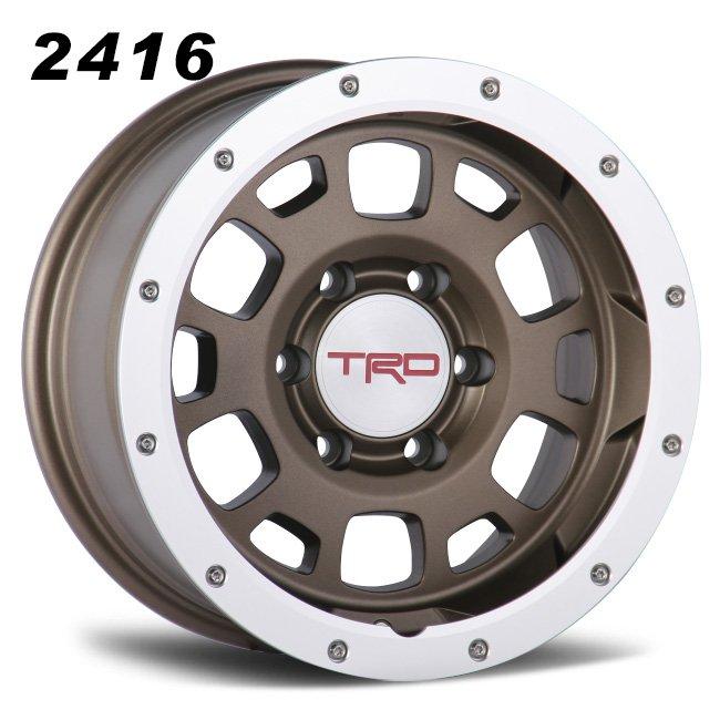 TRD bronze 6 spokes wheels