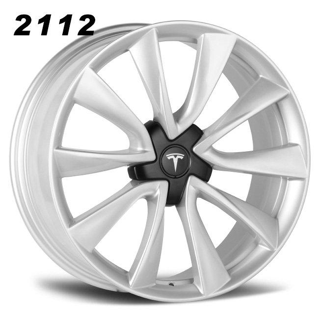 Tesla model 3 19inch silver alloy wheels
