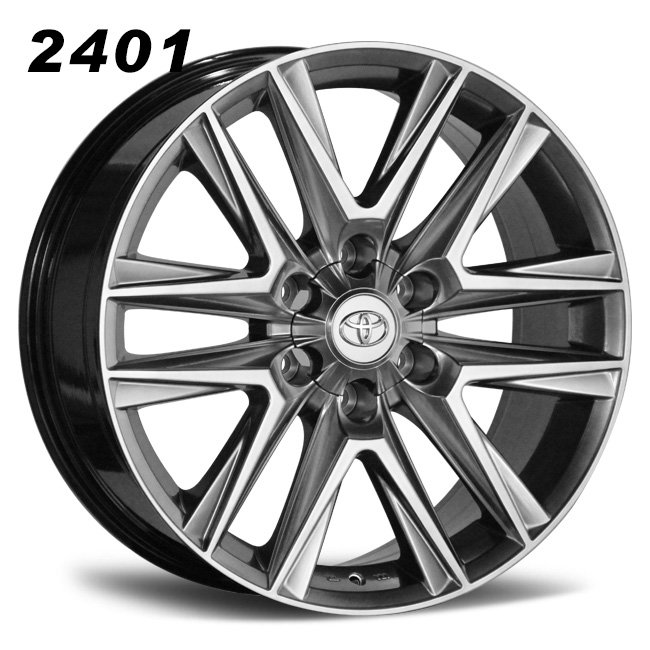 Toyota 20inch 6 spokes wheels