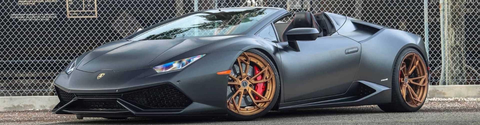Bronze Alloy Wheels