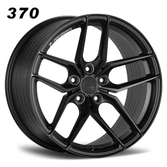 Y spokes concave alloy cap staggered 5 spokes wheels