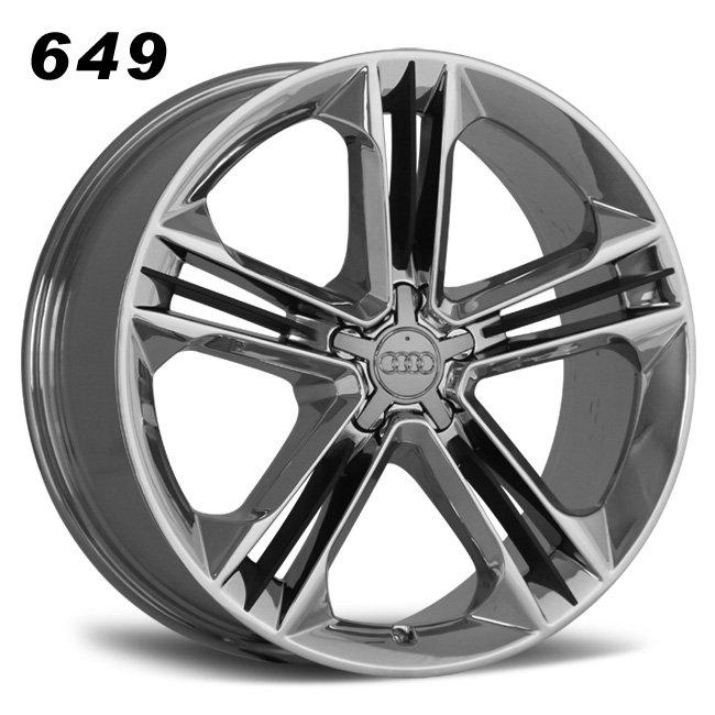 audi chrome alloy wheel