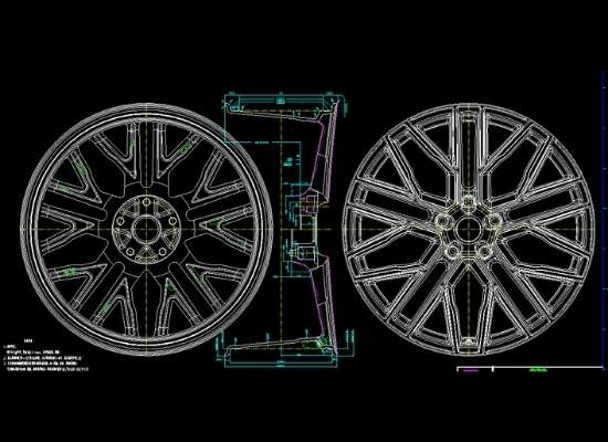 custom alloy wheel
